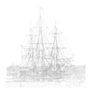 HMS Victory in No. 2 Dry Dock, Portsmouth, England
