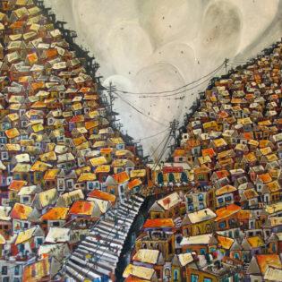 Stairway Through the Favela