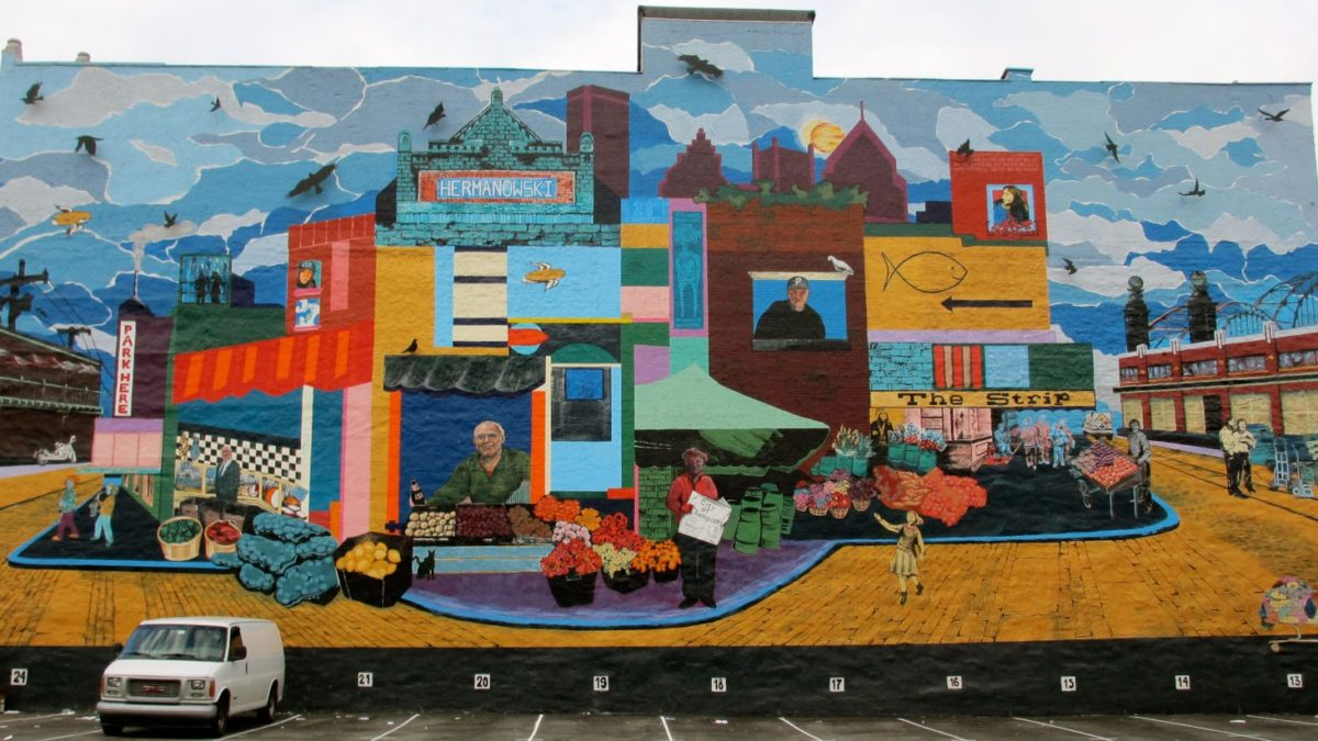 Pittsburgh art mural