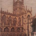 Bath Abbey (print)