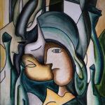 La Femme Et Les Vases