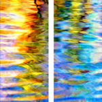 Okavango Twilight (Diptych)