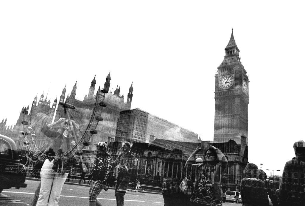 layered image London
