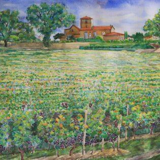 The Field of Mazerat and Village