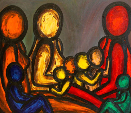 Francesco Ruspoli, Conversation In The Park
