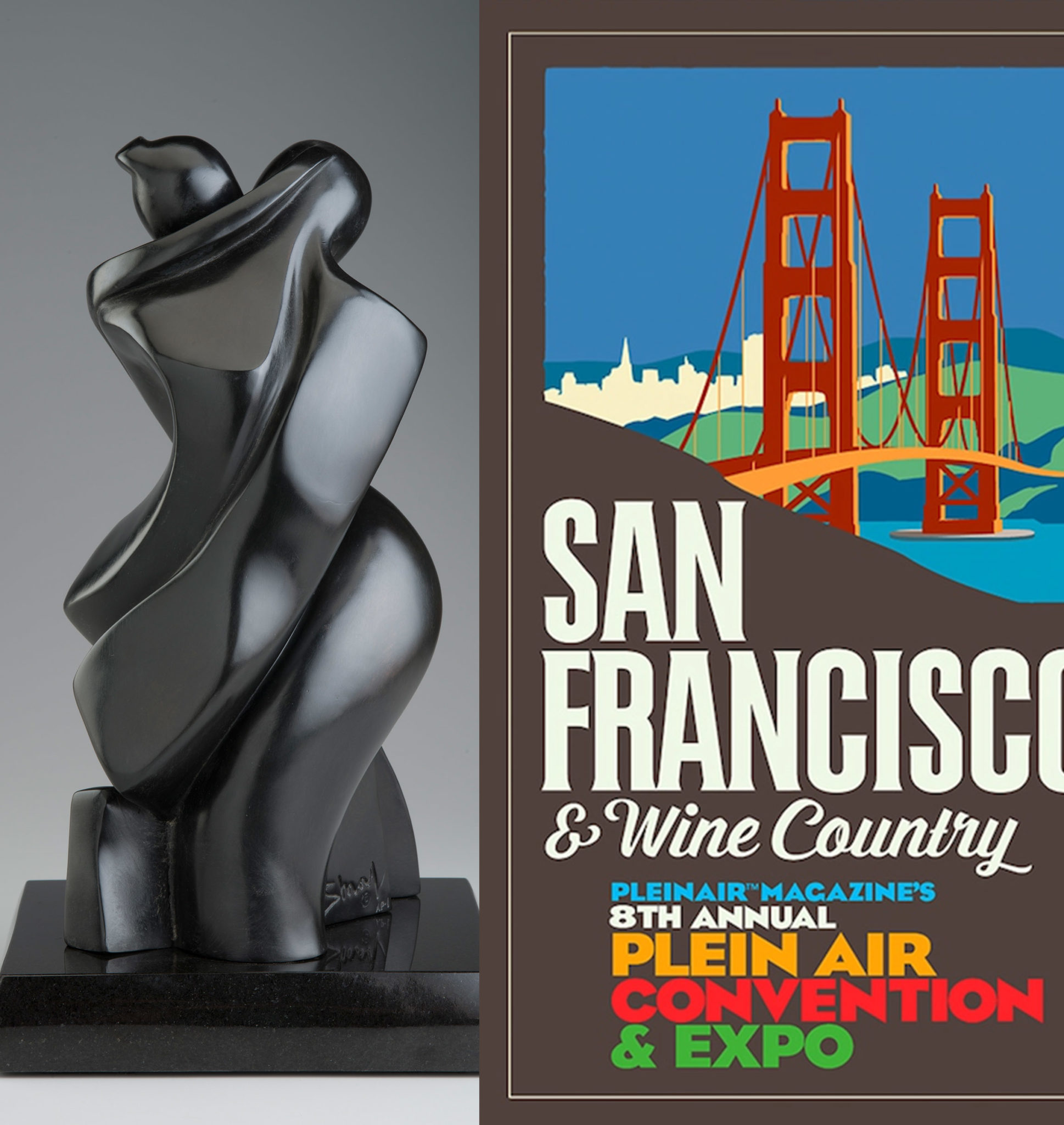 Shray @ Plein Air Convention & Expo (PACE), San Francisco, April 24 - 28,  2019 | Emillions Art