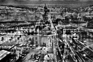 layered image Lisbon