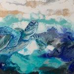 Lone Sea Turtle