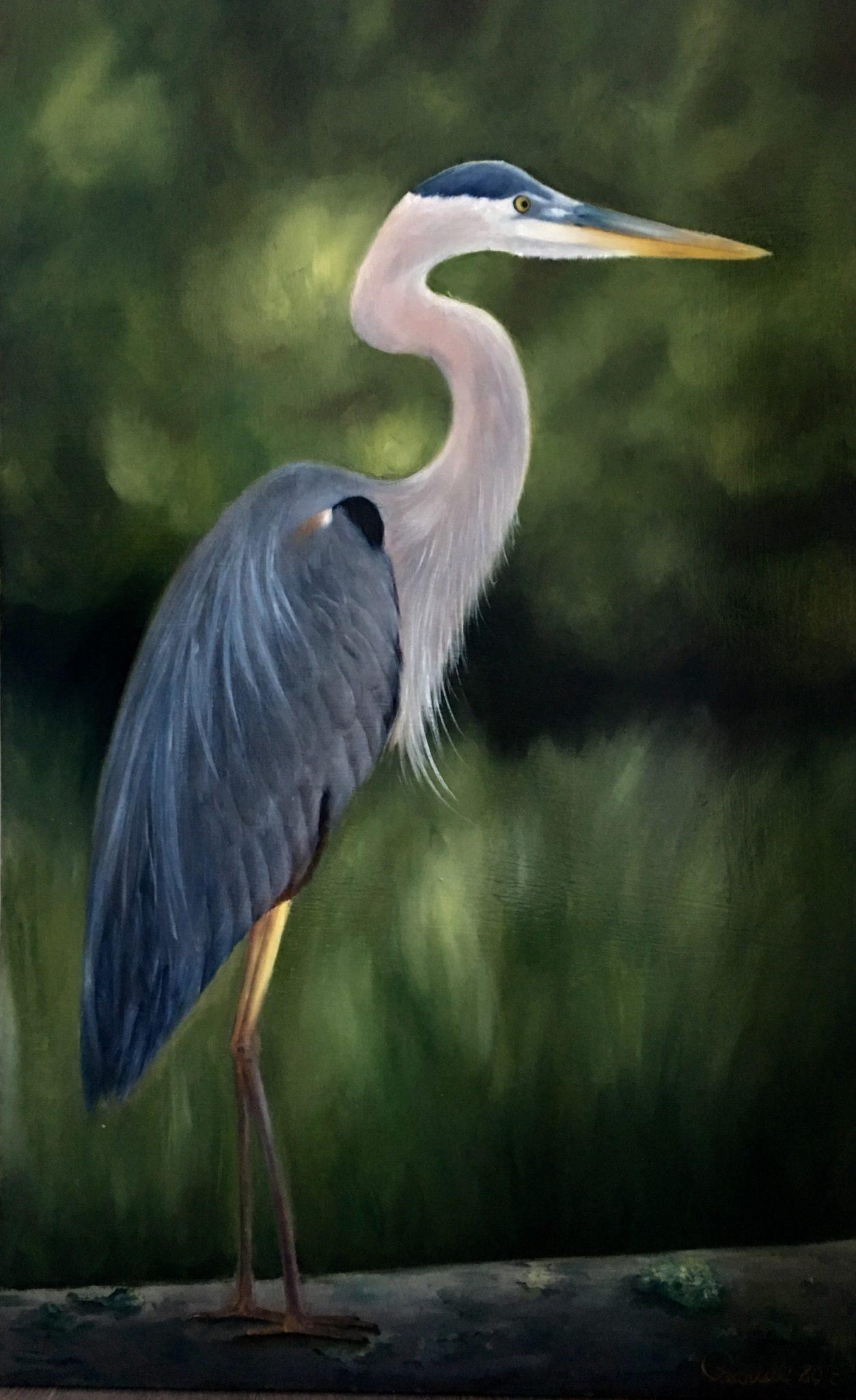 Blue Heron | Emillions Art