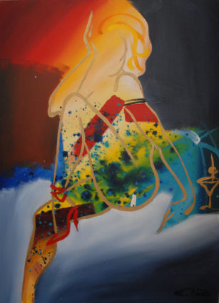 On A Cloud by Elaine Murphy