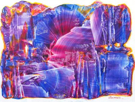 Blue Horizon by M.M. Ciciovan