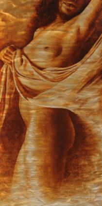 Golden Goddess by Dario Campanile