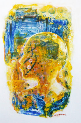 Head of a Young Boy by M.M. Ciciovan