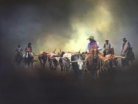 Longhorn Dust by Lane Baxter