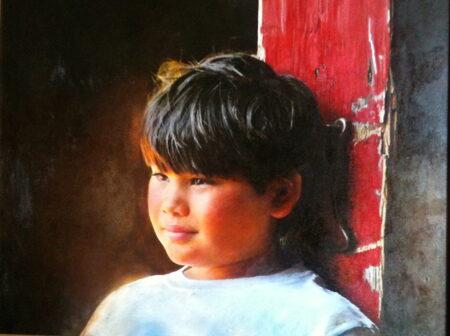 Portrait of Sean Edling by Lane Baxter