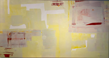 Abstract Yellow by Jim Salvati