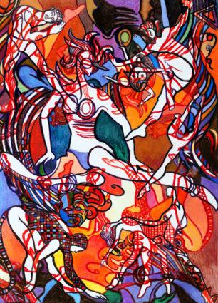 Dance Fantastique by Joan Sonnenberg