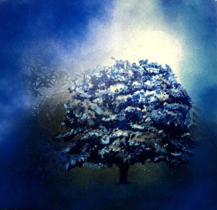 Arbre Bleu 2 by Andre Bielen