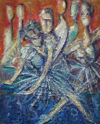 Seven Dancers by Shray