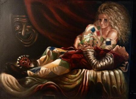 The Death of Arlecchino by John Robbolino Jr.