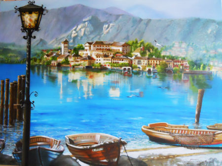 Lago d'Orta by John Robbolino