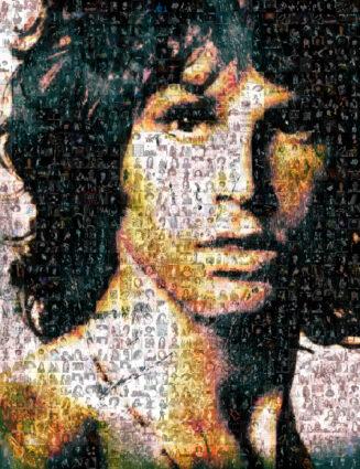 Jim Morrison by Robin Austin