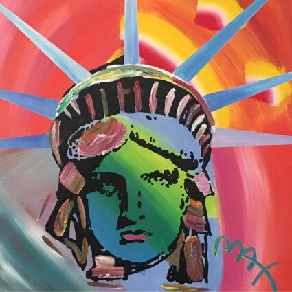 Liberty Head Peter Max