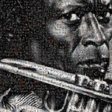 Miles Davis Prince of Darkness by Robin Austin