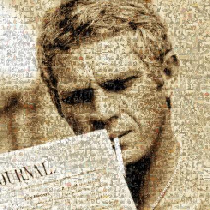 Steve McQueen by Robin Austin