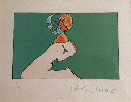 Facing Left by Peter Max