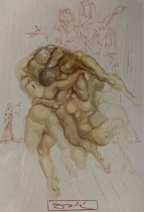 Inferno 8 by Salvador Dali