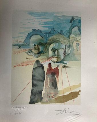 Purgatory 20 by Salvador Dali