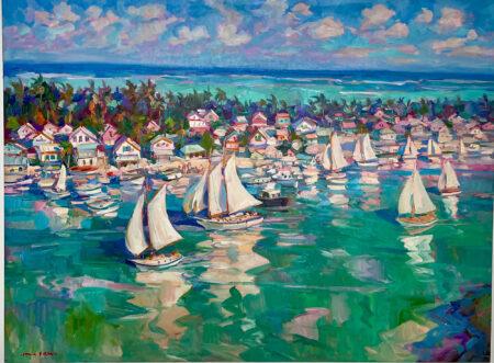 Island Regatta by James Kerr