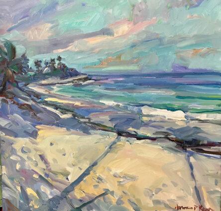 Palm Shadows by James Kerr